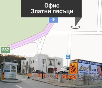 golden sands map2 Нови rent a car офиси в Златни пясъци и Слънчев бряг