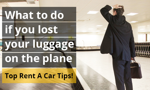 luggage lost on plane