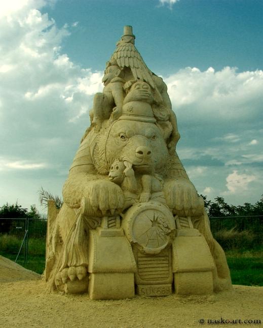 Фестивал на пясъчните фигури в Бургас