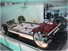 водороден автомобил на Toyota