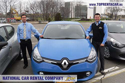 Renault Clio 4 от Top Rent A Car на Летище Бургас