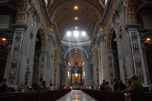 """3.Базиликата """"Свети Петър"""", Ватикана Снимка: Wikipedia"""