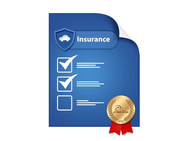 Какви застраховки има включени при наем на кола от Top Rent A Car?