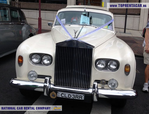 1960's Rolls Royce Silver Cloud 3 - white