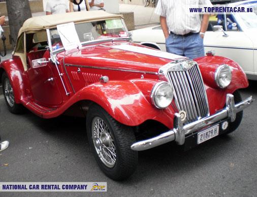MG TF - 1954