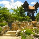 градина в замъкът в Равадиново