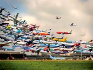 Най-натоварените летища в света