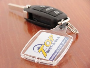 Keychain from Top Rent A Car
