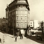 retro picture of hotel London in Varna