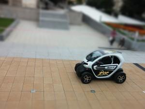 Galleria run - Renault Twizy