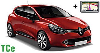 Renault Clio IV TCe + NAVI