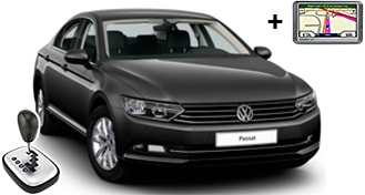 VW Passat + GPS FDAR