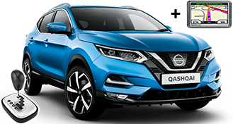 Nissan Qashqai + GPS IFAR