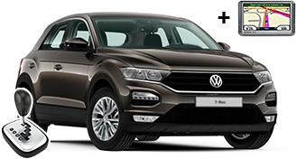 VW T-Roc + GPS