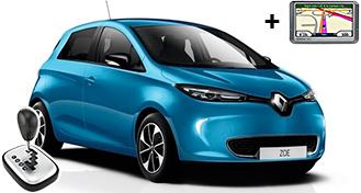 Renault Zoe Eлектромобил EDAE