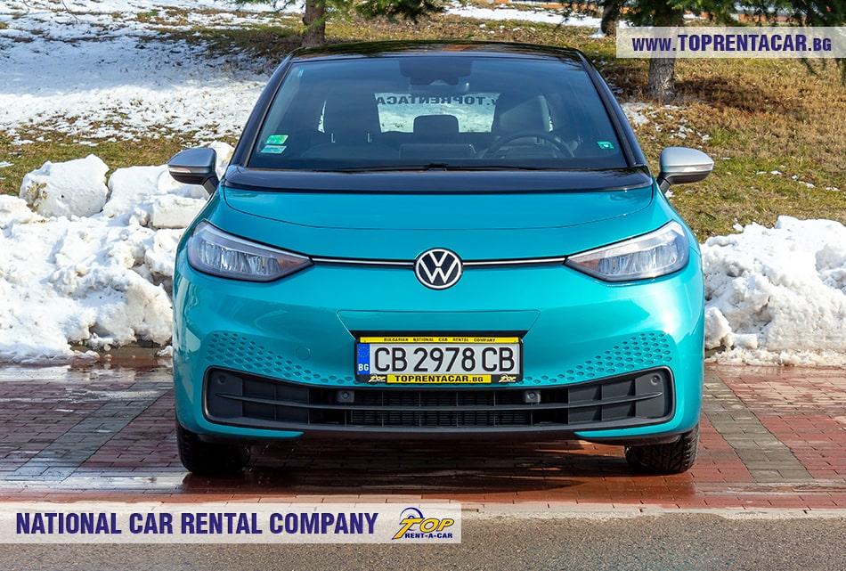 VW ID.3 изглед отпред