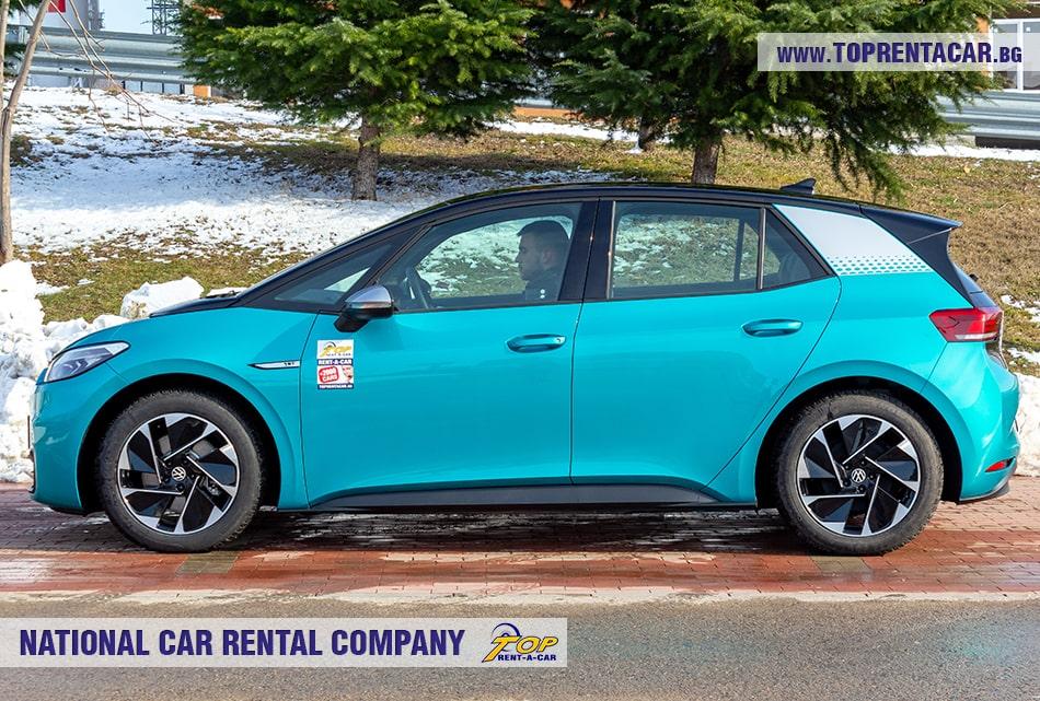 VW ID.3 страничен изглед
