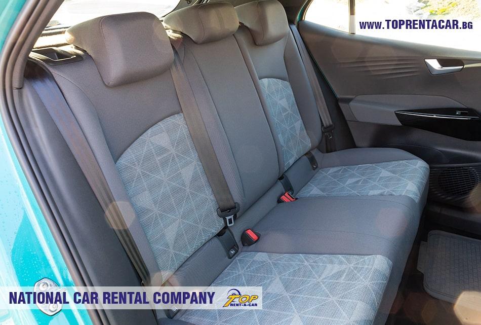 VW ID.3 задни седалки