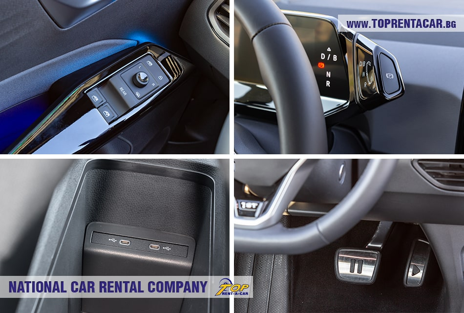 VW ID.3 под наем от Top Rent A Car