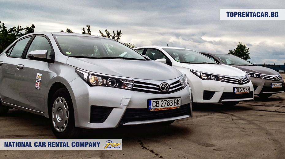 Toyota Corolla от Top Rent A Car