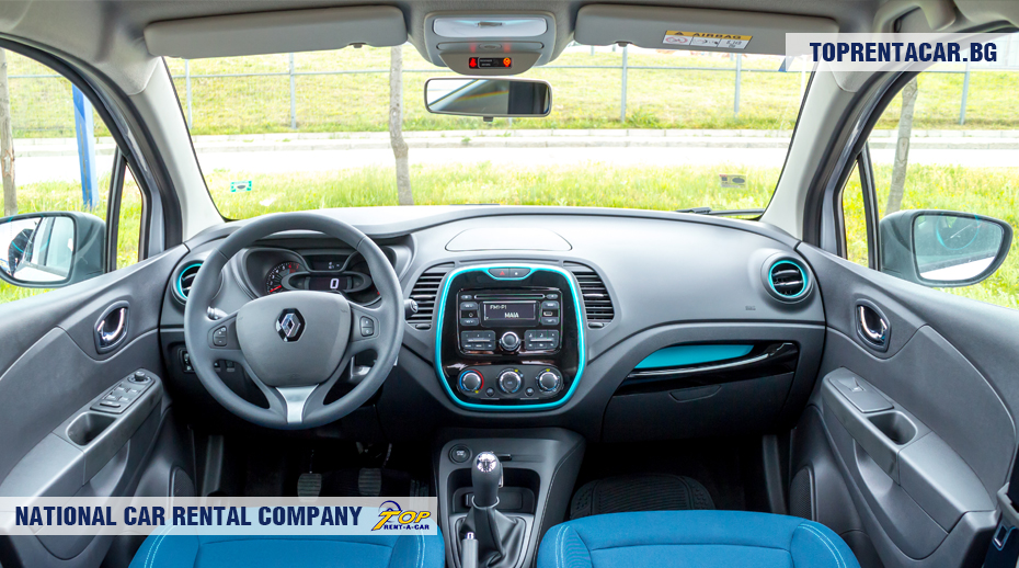 Renault Captur Trunk Renault Captur Inside