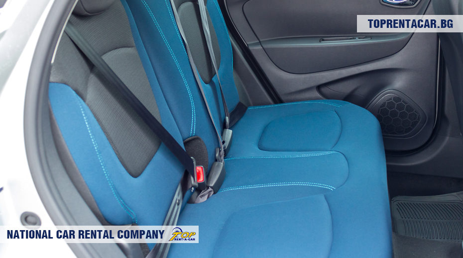 Renault Captur - backseats