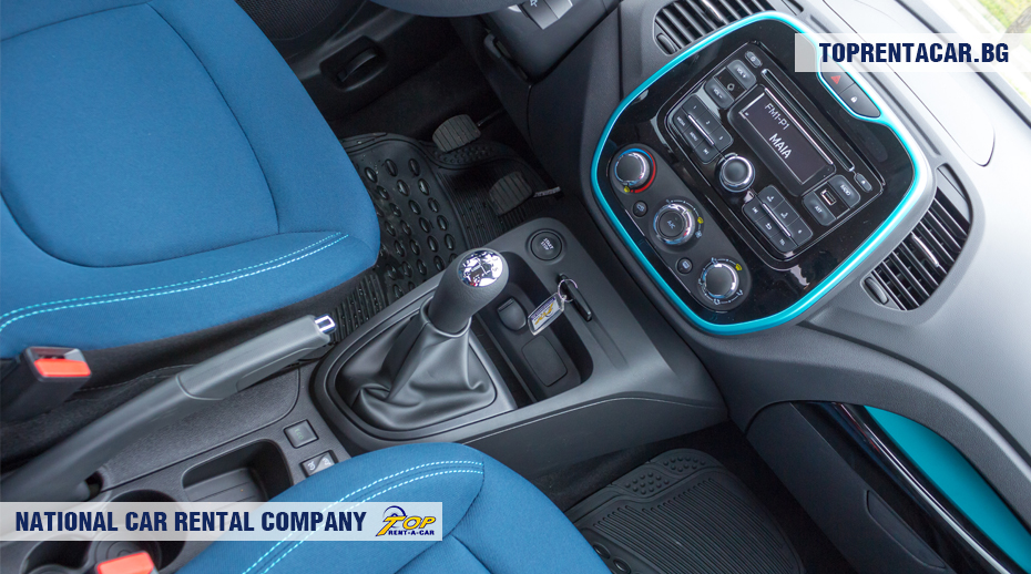 Renault Captur - manual transmission