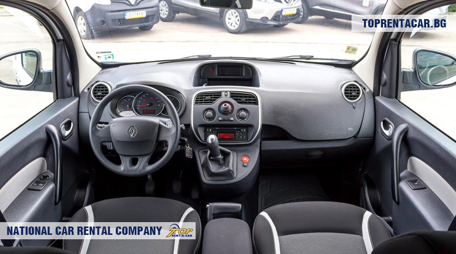Renault Kangoo - inside view