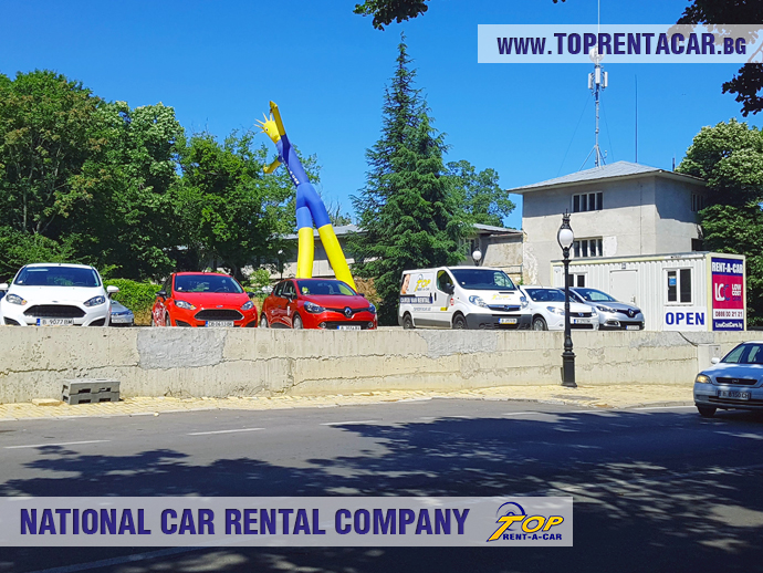 Rent a car Golden Sands