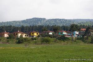 Къщи край Батак