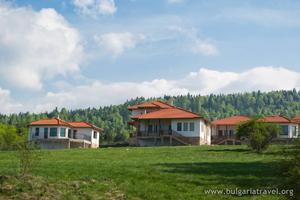 Houses near Batak