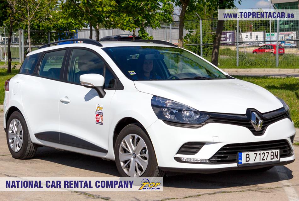 Renault Clio 4 комби - изглед отпред