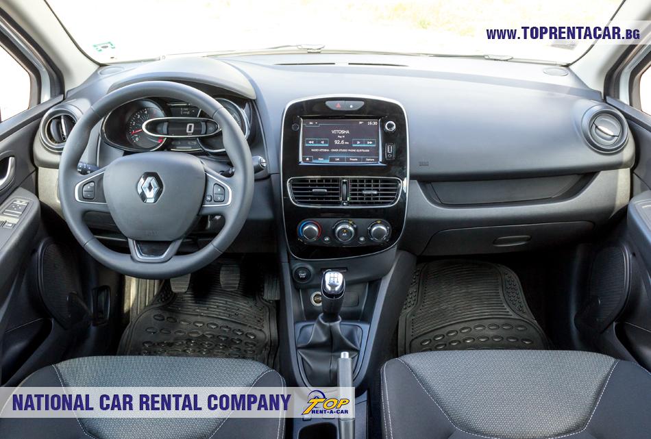 Renault Clio 4 комби - изглед отвътре