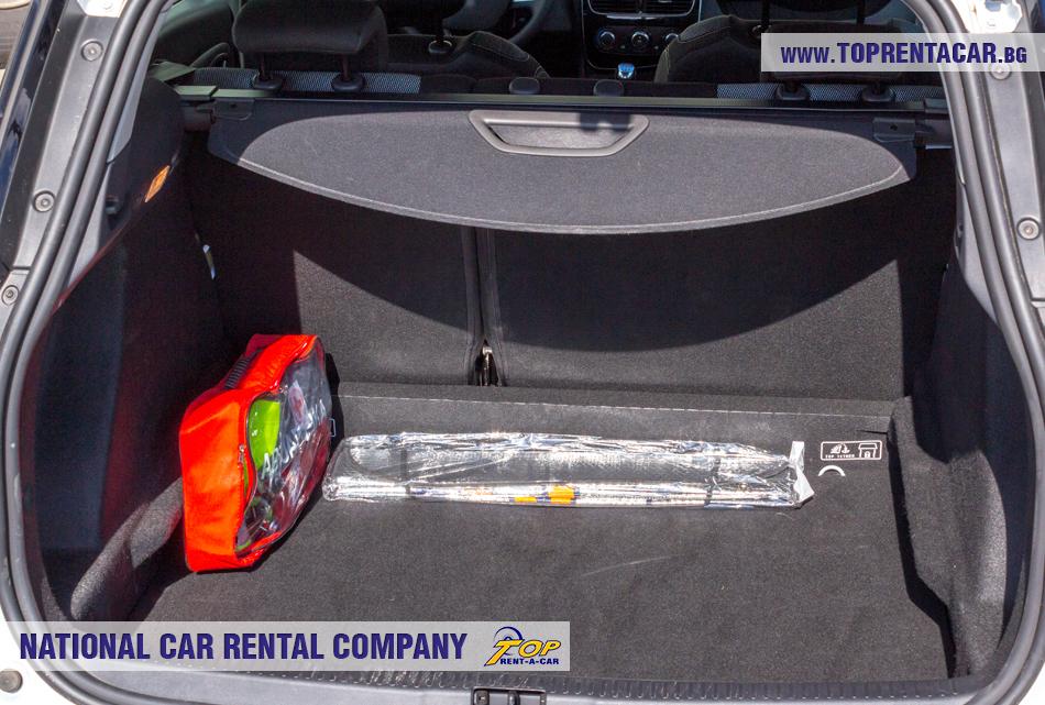 Renault Clio 4 комби - изглед на багажника