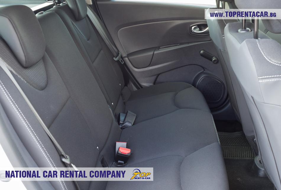 Renault Clio IV Grandtour - задни седалки