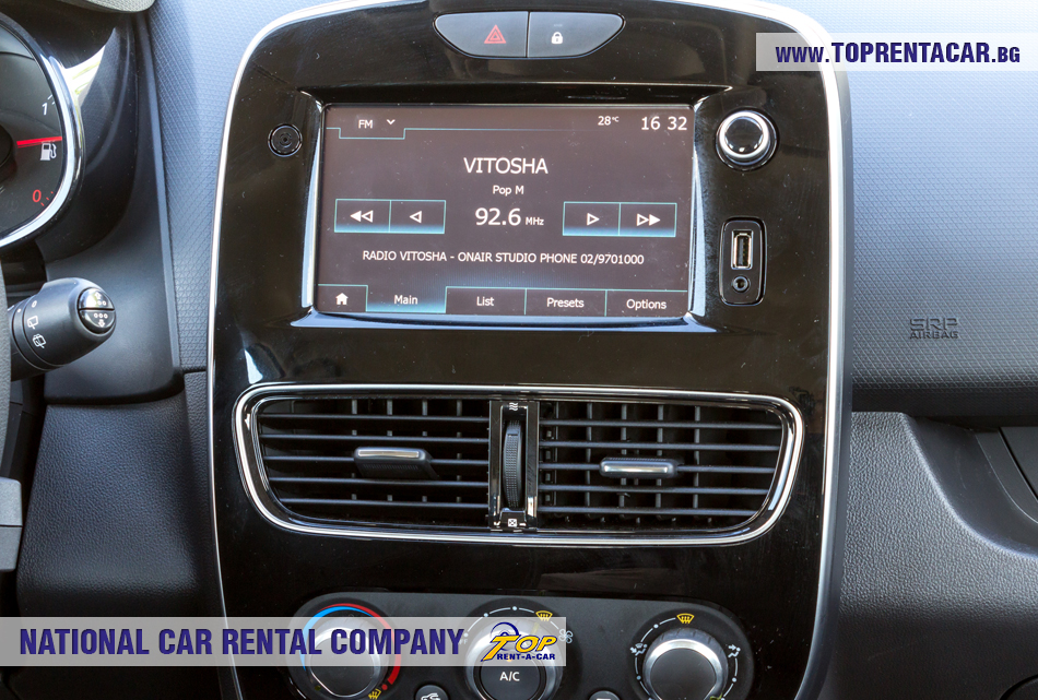 Renault Clio IV Grandtour - табло