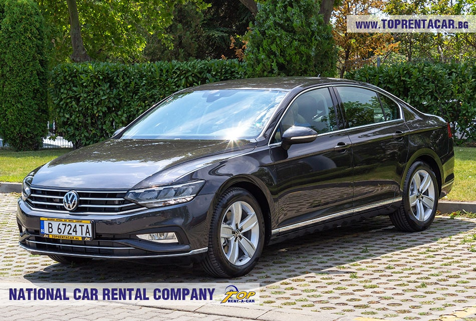 VW Passat 2020 for rent from Top Rent A Car