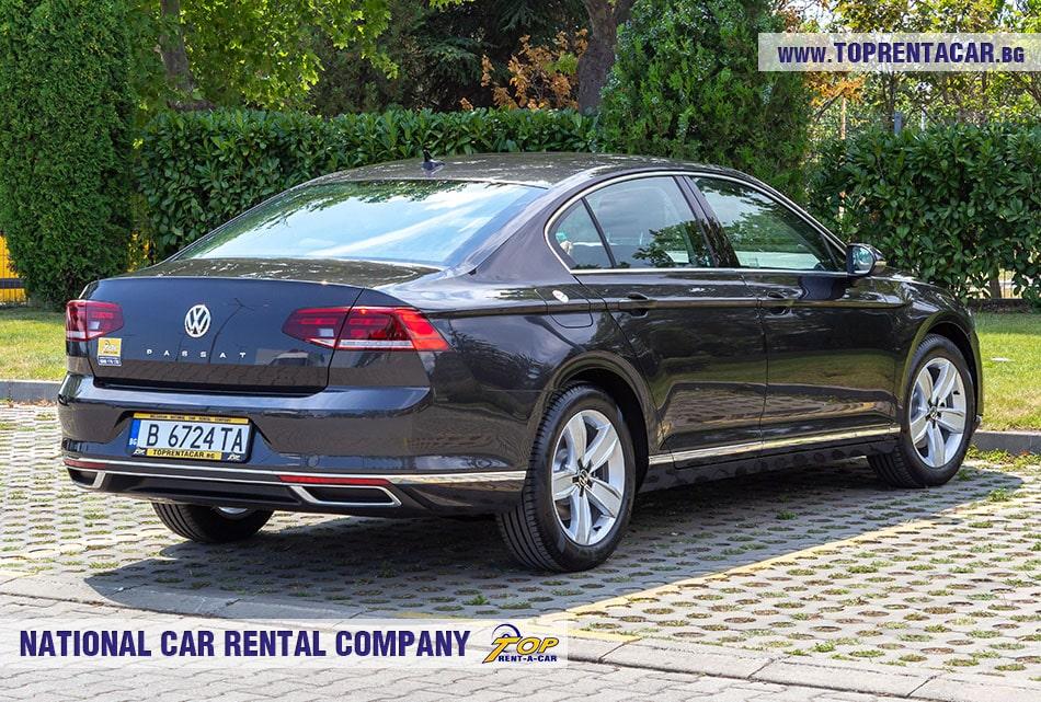 VW Passat 2020 - back