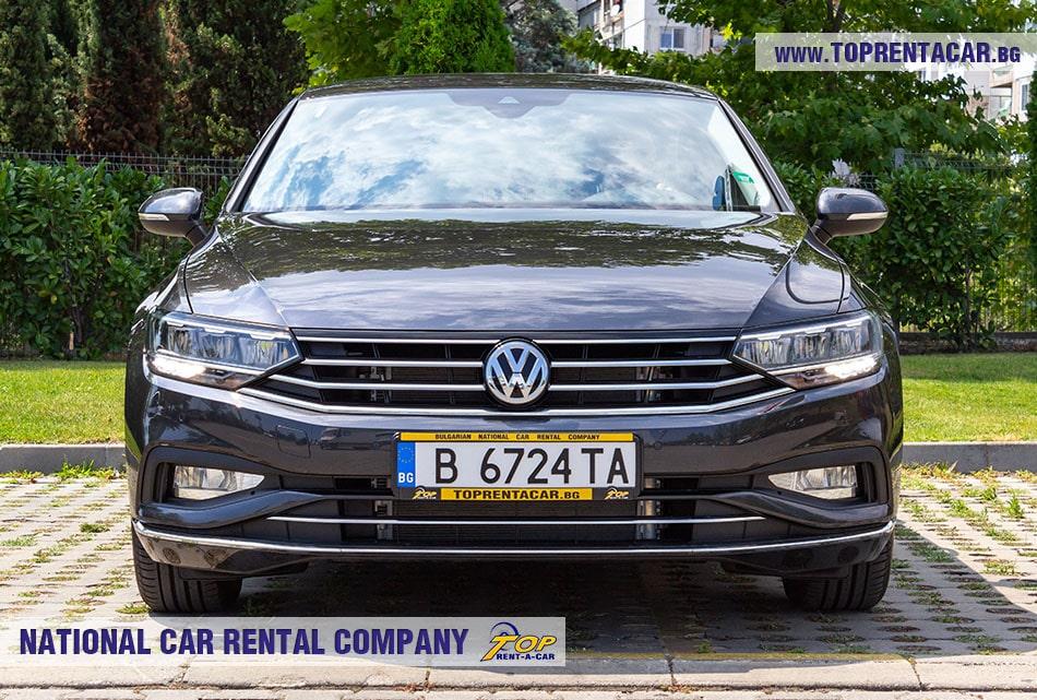 VW Passat 2020 - front