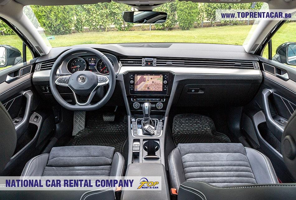 VW Passat sedan interior