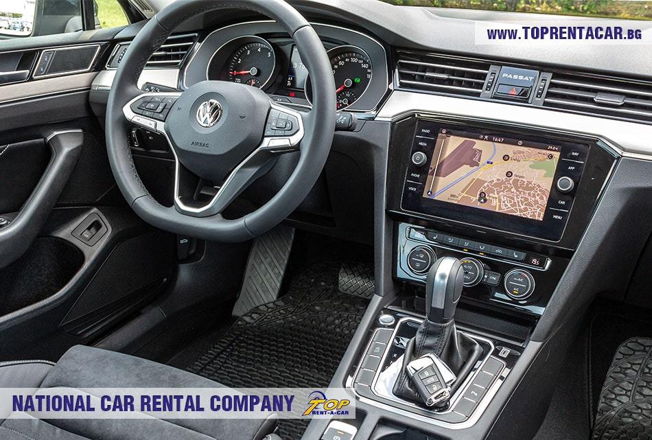 VW Passat for rent