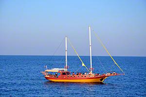 Boat near Lozenets