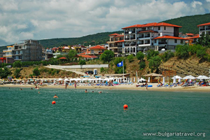 Beach in St. Vlas