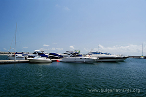 Yachts in St. Vlas