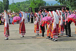 Festival of the rose in Kazanlak