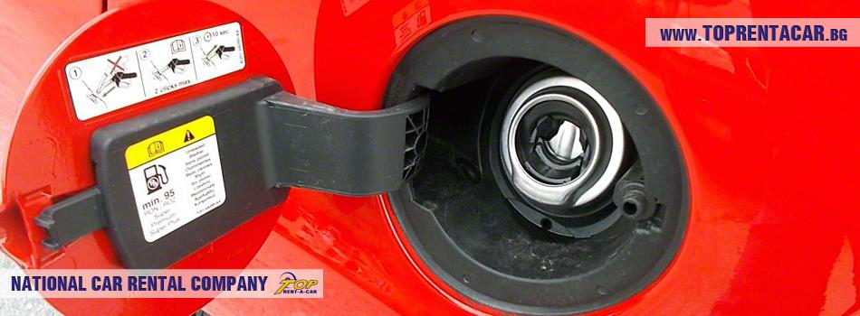 Съвети при шофиране на автомобил под наем с бензинов двигател
