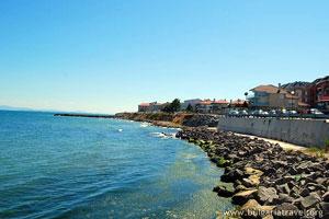 The coast near Ravda