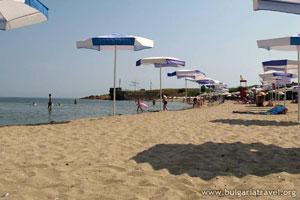 Плажът край Ахтопол