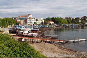 Boats in Ahtopol