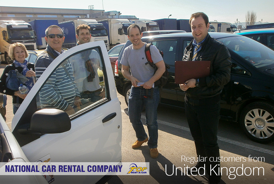 UK customers of Top Rent A Car
